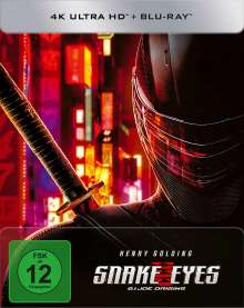 Snake Eyes: G.I. Joe Origins (Ultra HD Blu-ray & Blu-ray im Steelbook), 1 Ultra HD Blu-ray und 1 Blu-ray Disc