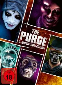 The Purge 5-Movie Collection, 5 DVDs