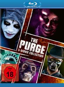 The Purge 5-Movie Collection (Blu-ray), 5 Blu-ray Discs