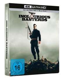 Inglourious Basterds (Ultra HD Blu-ray & Blu-ray im Steelbook), 1 Ultra HD Blu-ray und 1 Blu-ray Disc
