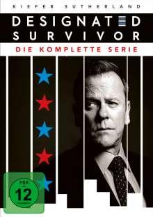 Designated Survivor (Komplette Serie), 15 DVDs