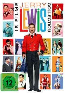 Jerry Lewis 16-Film-Collection, 16 DVDs