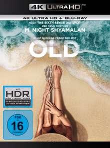 Old (Ultra HD Blu-ray & Blu-ray), 1 Ultra HD Blu-ray und 1 Blu-ray Disc