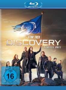 Star Trek Discovery Staffel 3 (Blu-ray), 5 Blu-ray Discs