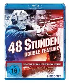 Nur 48 Stunden / Und wieder 48 Stunden (Blu-ray), 2 Blu-ray Discs