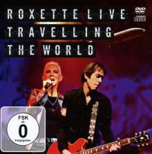 Roxette: Live: Travelling The World 2012 (CD + DVD), 1 DVD und 1 CD