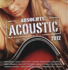 Absolute Acoustic 2012, CD
