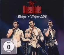 The Baseballs: Strings 'n' Stripes Live (Limited Box Set)  (2CD + DVD), 3 CDs