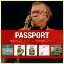 Passport / Klaus Doldinger: Original Album Series Vol.2, 5 CDs
