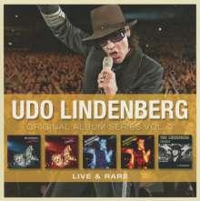 Udo Lindenberg & Das Panikorchester: Original Album Series Vol.3 (Live & Rare), 5 CDs