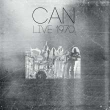 Can: Live 1970 (180g) (Limited Numbered Edition) (Silver Vinyl), 2 LPs