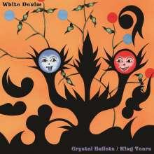White Denim: Crystal Bullets b/w King Tears (Orange/Black Split Vinyl), LP