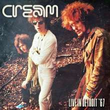 Cream: Live In Detroit '67, 2 CDs