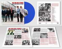The Rolling Stones: British Radio Broadcasts (180g) (Limited-Numbered-Edition) (Blue Vinyl), LP