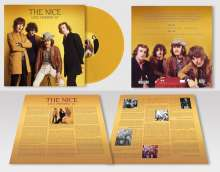 The Nice: Live Sweden '67 (180g) (Limited-Numbered-Edition) (Marbled Yellow Vinyl), LP