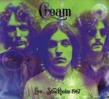 Cream: Live... Stockholm 1967, CD