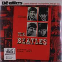 The Beatles: Melbourne,17th June 1964 (180g) (Limited-Numbered-Edition) (Red Marbled Vinyl), LP