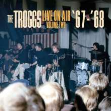 The Troggs: Live On Air - Volume Two '67-'68 (180g) (Limited-Numbered-Edition) (Blue Vinyl), LP