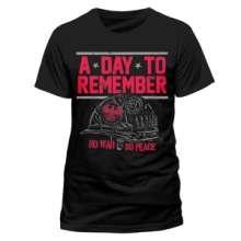 A Day To Remember: No War No Peace (T-Shirt,Schwarz,Größe S), T-Shirt