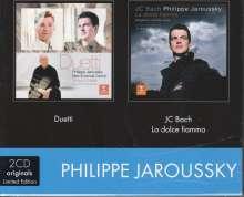 Philippe Jaroussky & Max Emanuel Cencic - Duetti / Phlippe Jaroussky - La Dolce Fiamma, 2 CDs