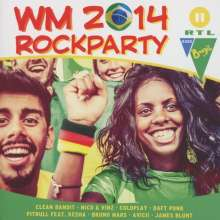 WM Rockparty 2014, 2 CDs