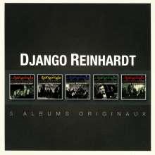 Django Reinhardt (1910-1953): Original Album Series, 5 CDs