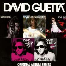 David Guetta: Original Album Series, 5 CDs