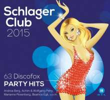Schlager Club 2015: 63 Discofox Party Hits, 3 CDs