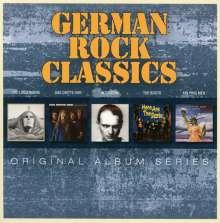 German Rock Classics: Original Album Series, 5 CDs