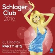 Schlager Club 2016, 3 CDs