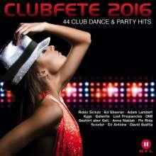 Clubfete 2016, 2 CDs