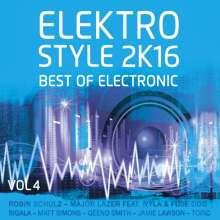 Elektro Style 2k16: Best Of Electronic & Deep House, 3 CDs