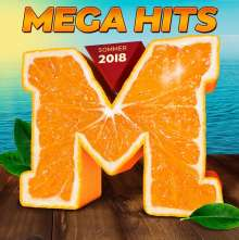 MegaHits Sommer 2018, 2 CDs