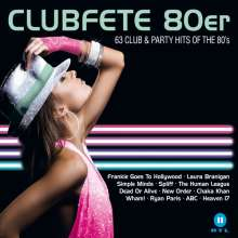Clubfete 80er: 60 Club & Party Hits Of The 80's, 3 CDs