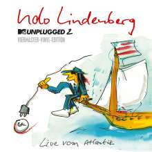 Udo Lindenberg: MTV Unplugged 2 - Live vom Atlantik (180g) (Limited-Edition-Vinyl-Box), 4 LPs