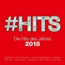 #Hits 2018 - Die Hits des Jahres, 2 CDs