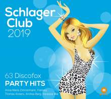 Schlager Club 2019 (63 Discofox Party Hits - Best Of), 3 CDs