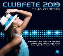 Clubfete 2019 (63 Club Dance & Party Hits), 3 CDs