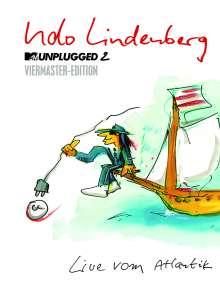Udo Lindenberg: MTV Unplugged 2 - Live vom Atlantik (Viermaster-Edition), 2 CDs und 2 DVDs