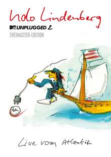 Udo Lindenberg: MTV Unplugged 2 - Live vom Atlantik (Zweimaster-Edition), 2 DVDs