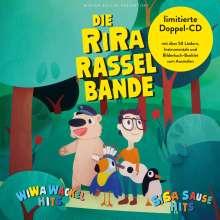 RiRaRasselbande: Wi Wa Wackelhits / Si Sa Sausehits (Lieder zum Singen & Springen / Lieder zum Hüpfen & Hoppeln) (Limited-Edition), 2 CDs