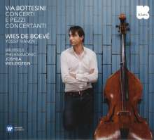 Giovanni Bottesini (1821-1889): Kontrabasskonzerte h-moll & fis-moll, CD