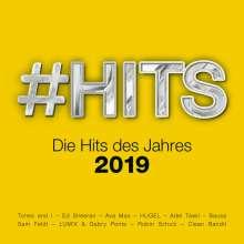 #Hits 2019: Die Hits des Jahres, 2 CDs