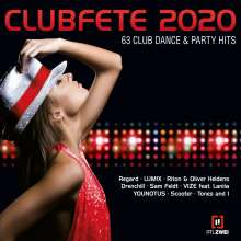 Clubfete 2020 (63 Club Dance & Party Hits), 3 CDs