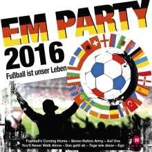 EM Party 2016: Fußball ist unser Leben, 2 CDs
