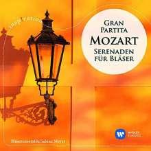 """Wolfgang Amadeus Mozart (1756-1791): Serenaden Nr.10 & 11 (KV 361 """"Gran Partita & 375), CD"""