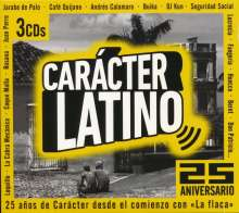 Carácter Latino 25 Aniversario, 3 CDs