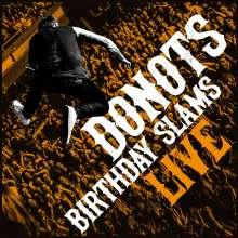 Donots: Birthday Slams (Live) (180g) (Weiß-Transparentes Vinyl mit schwarzen Schlieren), 2 LPs