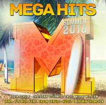Megahits - Sommer 2016, 2 CDs