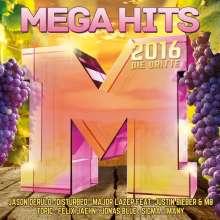 Megahits 2016 - Die Dritte, 2 CDs